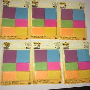 6 Packs of Post-its